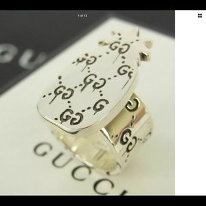 COMING SOON GUCCI Sterling Pineapple Ring BNWT